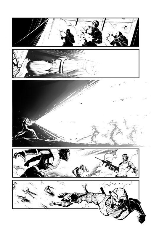 Valiant's X O Manowar