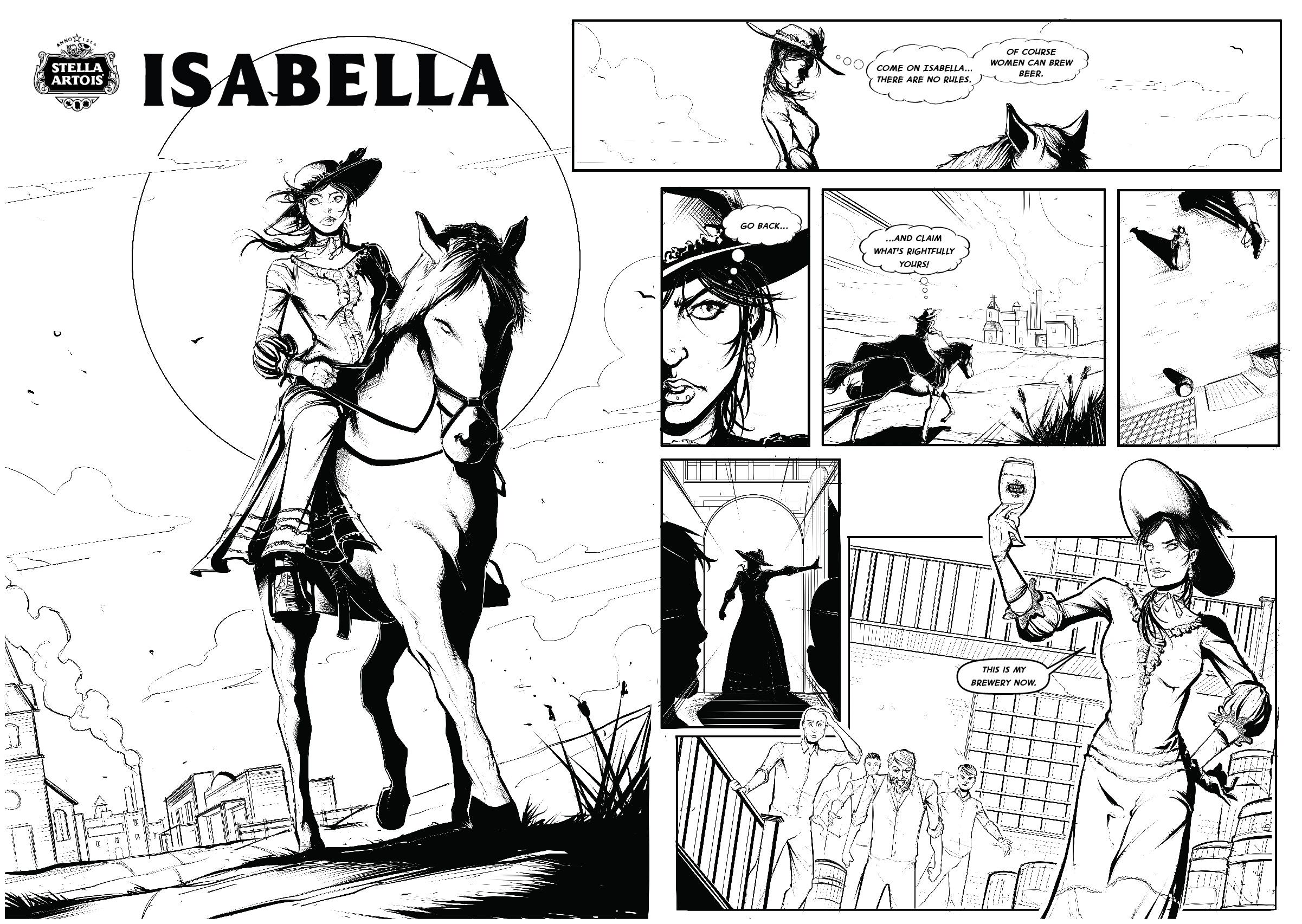 Stella Artois Comic