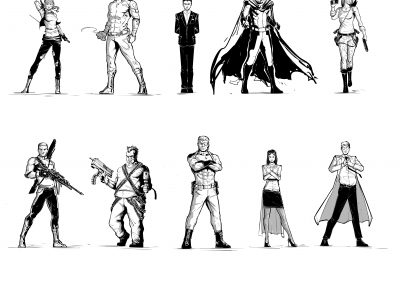 Northstarr Character Designs
