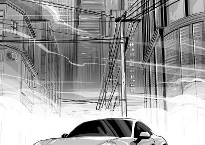 Porsche China: Concept & Environment design