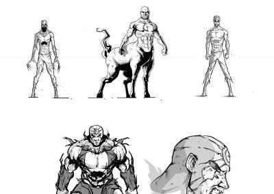 Username: Uprising character designs