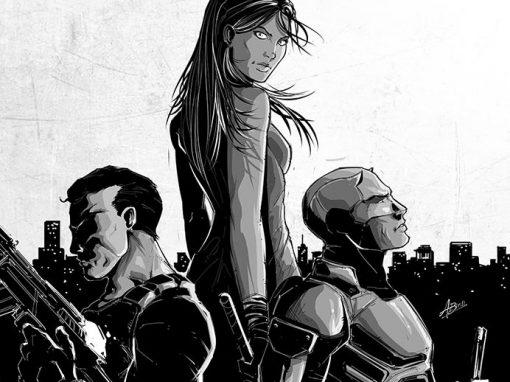 Netflix & Marvel's Daredevil/Jessica Jones