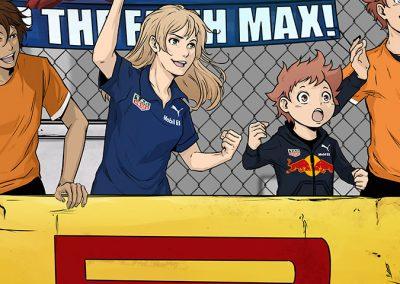 Manga-style artwork