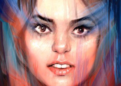Digital Portrait Illustration