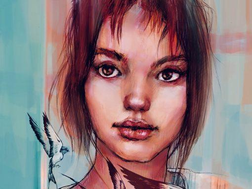 Portrait-style Artwork