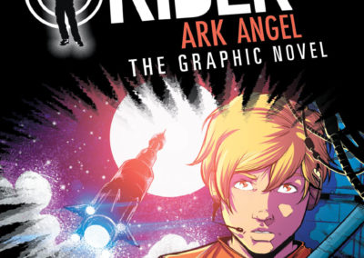 Alex Rider: Ark Angel Cover Art