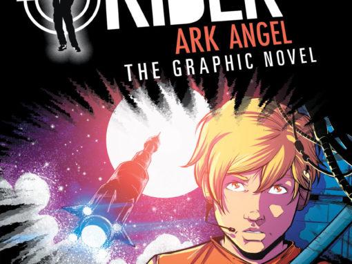 Alex Rider: Ark Angel Cover Art