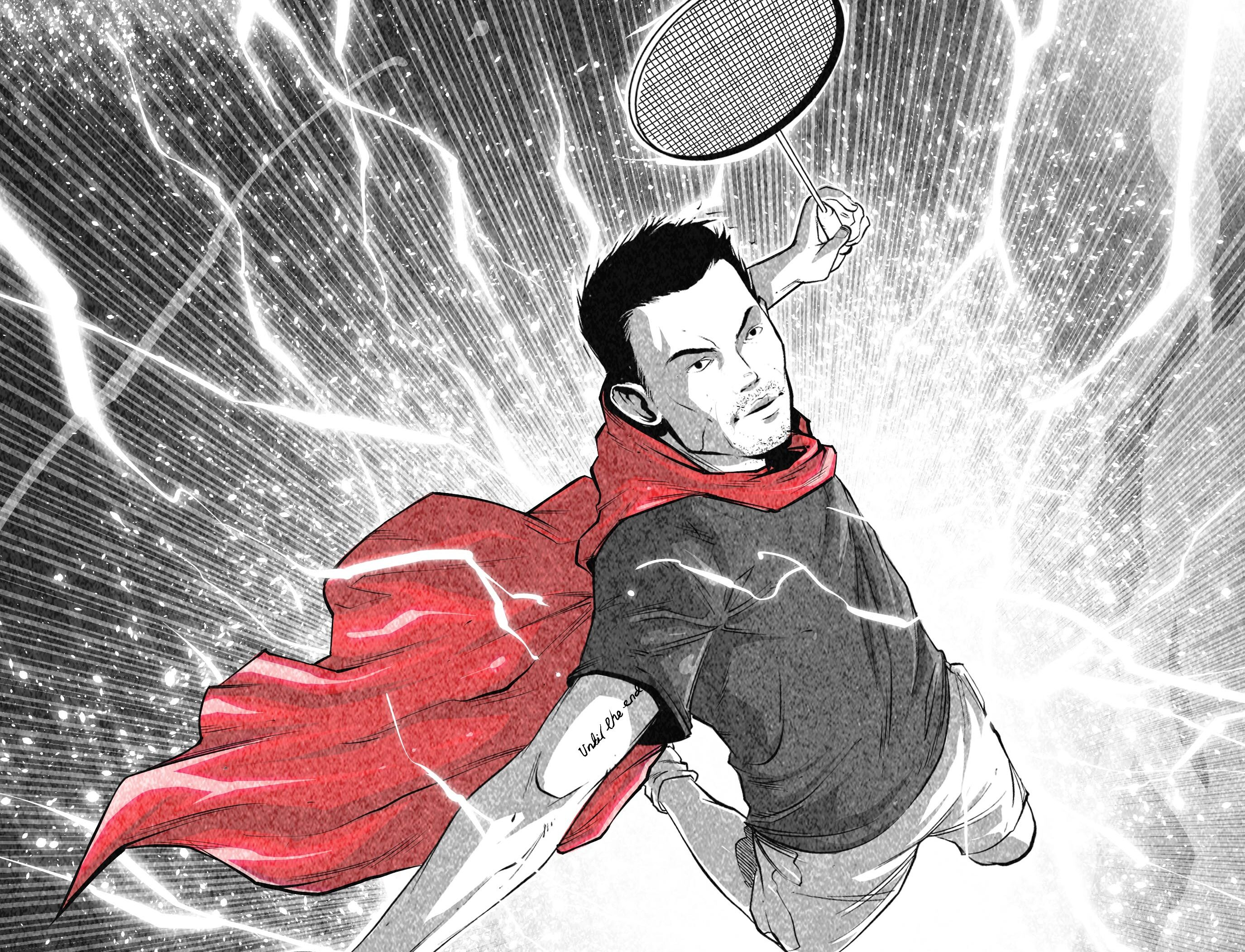 Lin Dan: A manga-inspired re-telling of the two-time Olympic champion's life