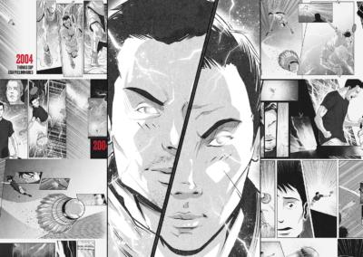 Lin Dan Digital Graphic Novel